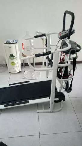 olahraga murah treadmill manual murah 6f