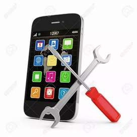 mobile service available..  software nd hardware
