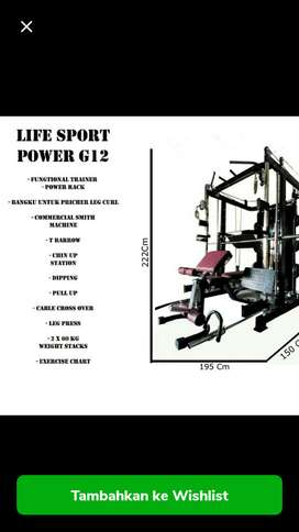 Alat gym like Force USA G12 plus leg pres