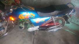 A very good condition bike