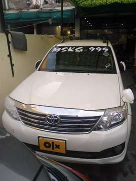 Toyota Fortuner AWD Already Bank Leased