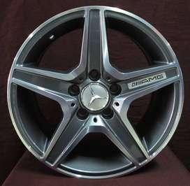 velg racing mercy ring 19 tipe sl63 warna grey