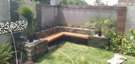 Garden landscaping and design