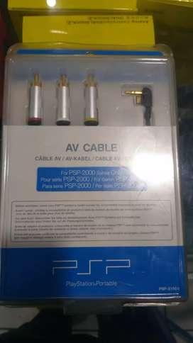 Kabel av buat psp ke tv