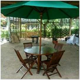 Meja payung tempat wisata, kantin, vila, resto, hotel n tempat wisata