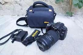 Nikon D80 lensa tele Tamron