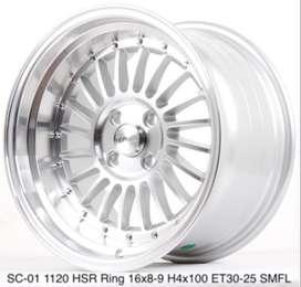 Velg SC-01 1120 HSR R16X8/9 H4x100 ET30/25 SMFL