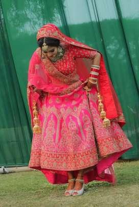 Designer bridal lehenga for rent