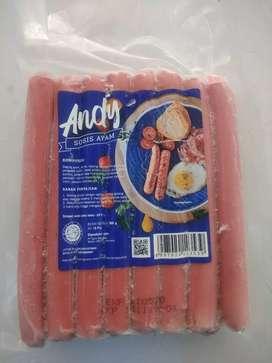 Andy sosis ayam isi 15pcs