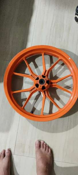 Ktm front alloy wheel