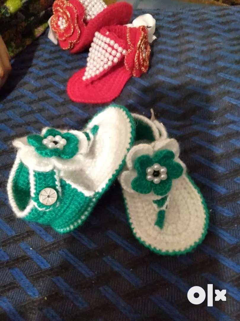 Yelllo woolen shoes 0
