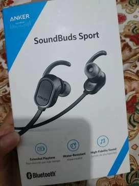Anker earphone Bluetooth Anker SoundBuds Sport UN - Black A3233