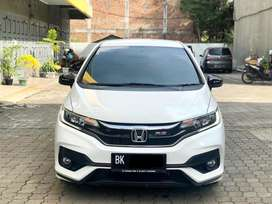 Jazz RS CVT 2018 Putih Mobil Simpanan