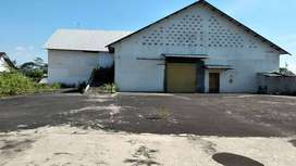 Disewakan gudang bagus & bersih halaman luas lokasi klaten