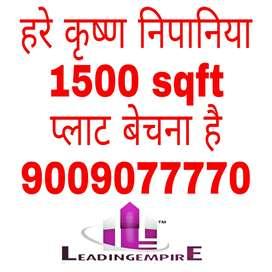 Hare Krishna 1500 sqft plot available resale