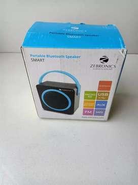 Smart portable zebronics bluetooth speaker