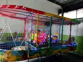 playground mandi bola gerobak odong lebih praktis KOMPLIT 11