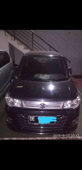 Dijual cepat (Hrg Nego) Mobil SUZUKI WAGON R GS TH.2015 HITAM METALIK