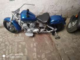 Modified bike with race condition  new call