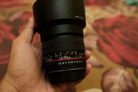 Samyang 85 f1.4 for canon mint