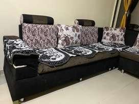 L shape 5 seater Sofa