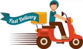 Urgent Delivery boy required salary + mob + fuel +  ESI