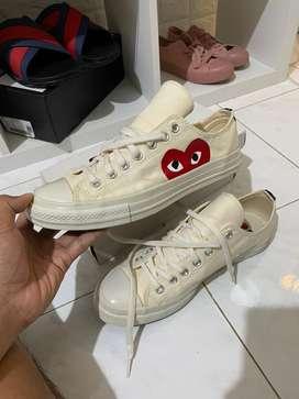 Sepatu converse X cdg play