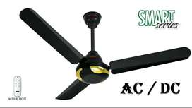 """Orient AC DC Smart Series Ceiling Fan with Remote - 56"""""""