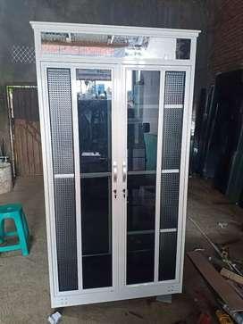 Jual lemari pakaian aluminium cantik free ongkir area malkot