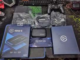Elgato HD60 S Stream Kabel Chat Link + Converter Lightning to HDMI Ori