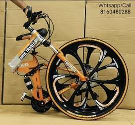 *NEW FOLDABLE BICYCLES 21 GEARS* *PRICE:11999Rs SAFEST MODE OF PAYMENT
