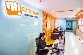 Micromax process CCE cum Back Offices jobs