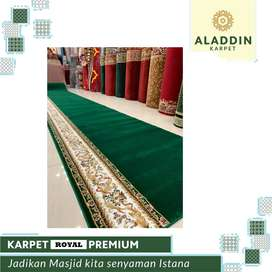 Ready Karpet Masjid Musholla Royal Premium Free Pasang & Survey