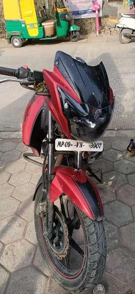 Apache RTR 160 Matte Red