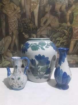 Pajangan keramik antik koleksi cantik dekorasi  unik koleksi rare