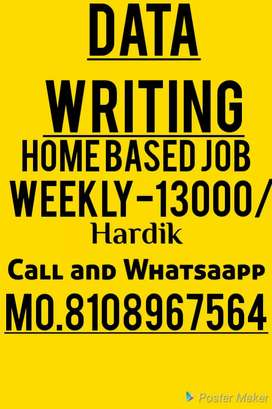 weekly part time work