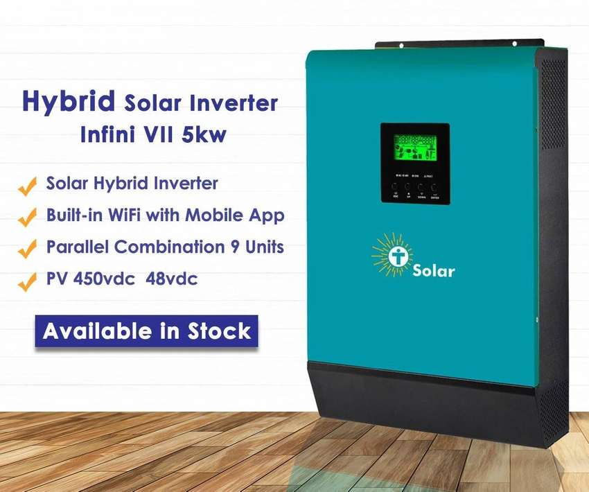 Tesla Infini V2 3KW & 5KW Single Phase Hybrid Solar Inverter