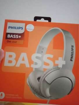 On ear philips bass + supra aural SHL 3075