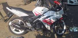 R15 VERY GOOD CONDITION HE 3RD OWNER HE ARGENT SELL KARNA HE