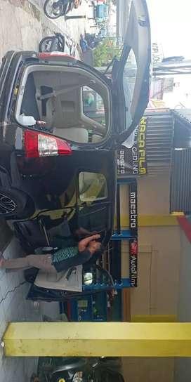 Kaca Film Standar Mobil Optilux black