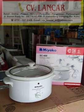 Slow Cooker MIYAKO 4L (GRATIS Ongkir bayar dirumah)