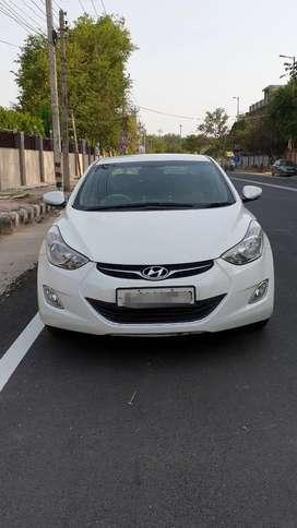 Hyundai Elantra 2013 CNG & Hybrids Good Condition