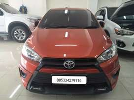 Toyota yaris 1.5 S trd sportivo 2014 kondisi super istimewa low km