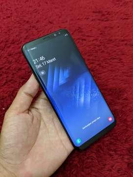 Samsung galaxy S8 plus dual resmi sein mantap shadow tipis aja