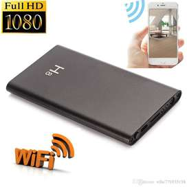 H8 Night Vision Hidden Camera WIFI Power Bank