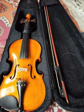 Brand New violin with leather bag