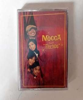 """kaset pita ori album MOCCA """"FRIENDS"""".  Kondisi segel mulus,"""