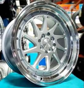 JUAL VELG HSR R17 CLONG FOR JAZZ RS , YARIS TRD