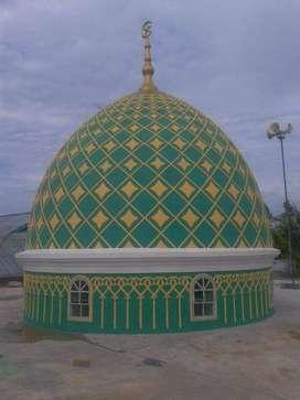borongan jasa proyek kubah masjid GRC di Plered - Purwakarta