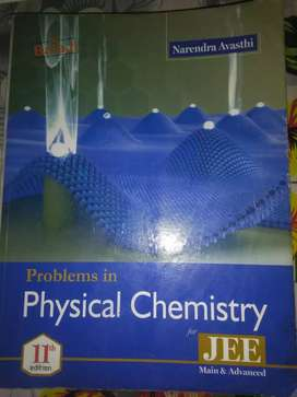 PROBLEM IN PHYSICAL CHEMISTRY | NARENDRA AVASTHI | IIT JEE CHEMISTRY